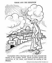 Image result for bible prophet isaiah colouring pages