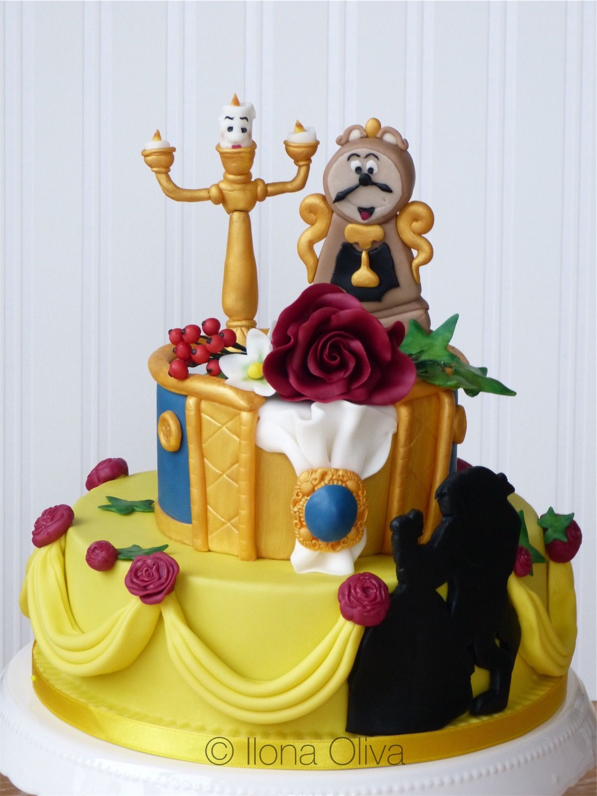 The Beauty And The Beast Cake Die Schone Und Das Biest Torte Die Schone Und Das Biest The Beast Torten