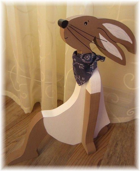 Ein Zuhause Tausend Ideen: Hase ....Felia ... Sucht Ein Zuhause Von Schönes Aus Holz