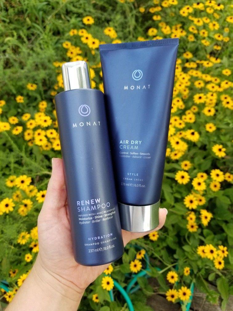 Monat faves Renew Shampoo & Air Dry Cream Monat, Monat