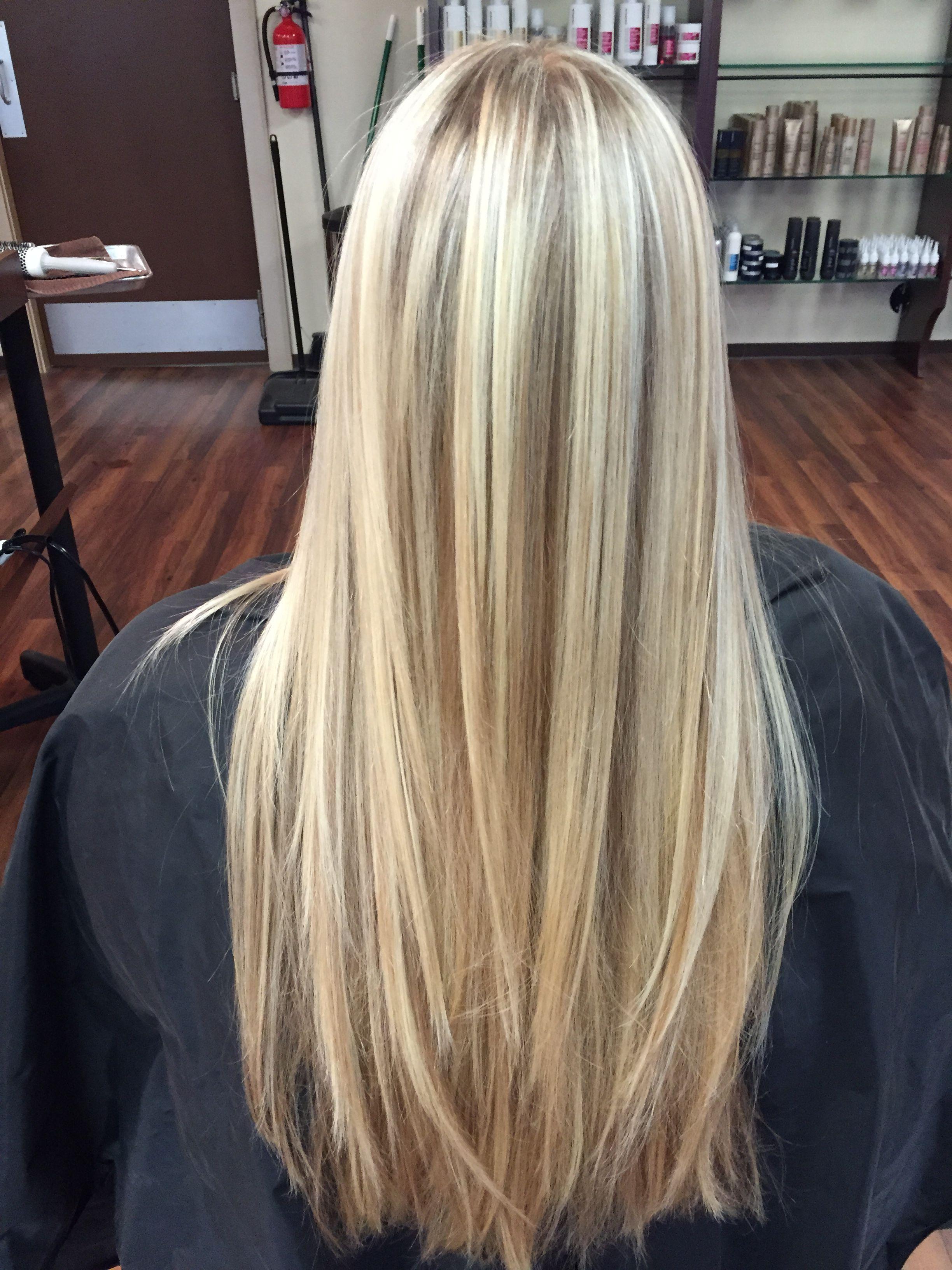 Blonde Foil Amp Balayage Hair By Julia