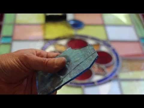 Stained Glass Repair Stained Glass Repair Stained Glass Diy Glass Repair