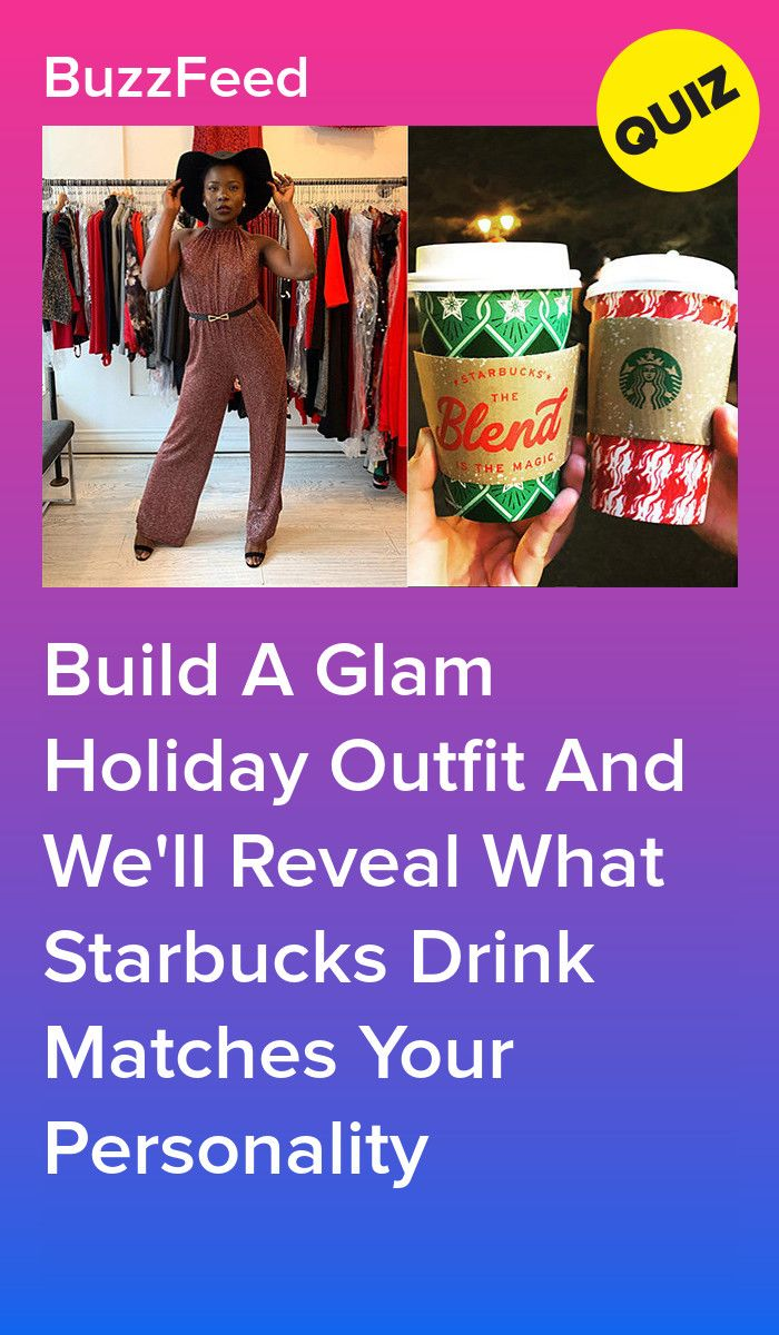 Build A Glam Holiday Outfit And We'll Reveal What