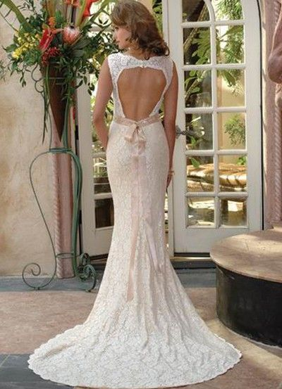 Mermaid Open Back Wedding Dress Ideas Trends And Galleries