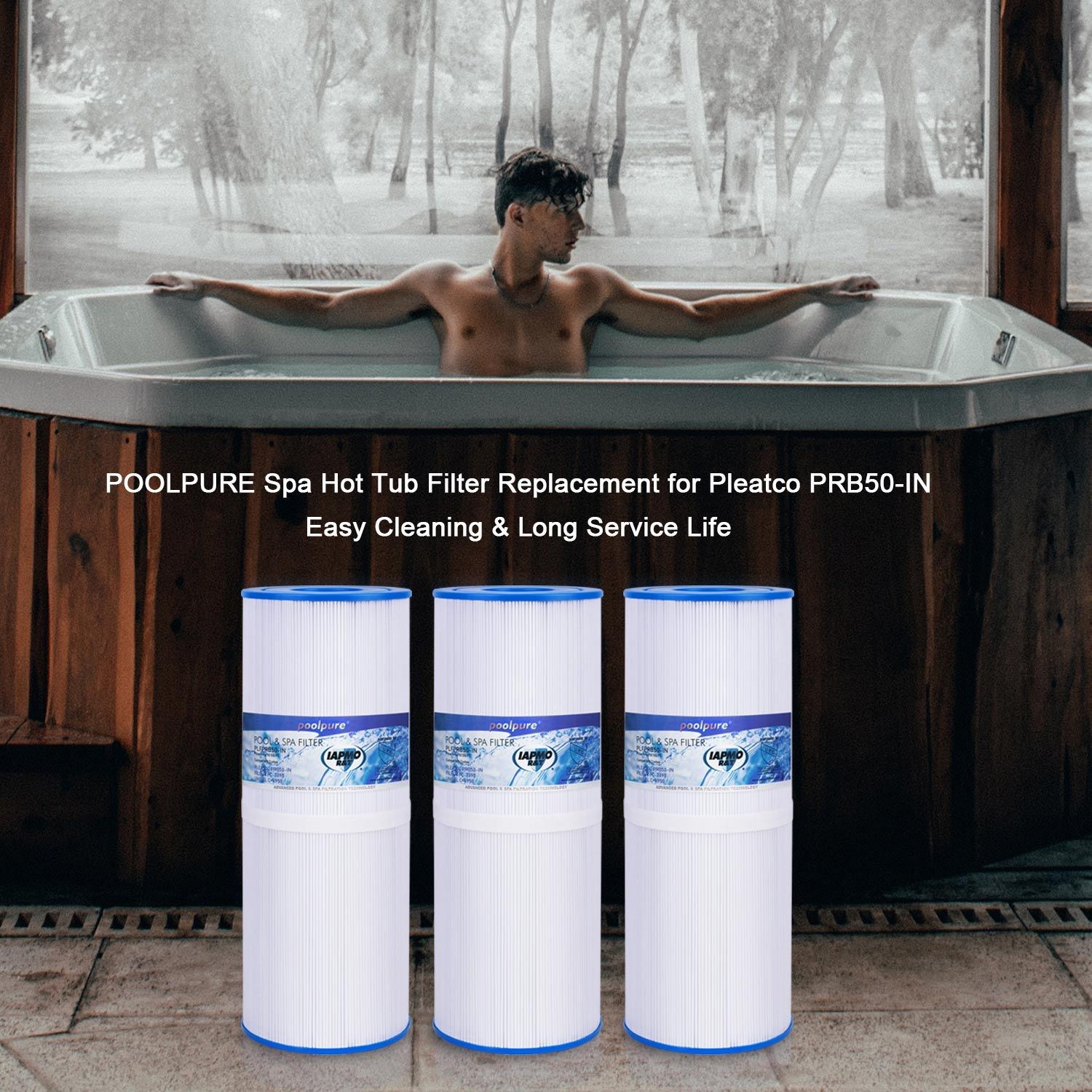 Poolpure spa filters can be used for 12 yearseasy