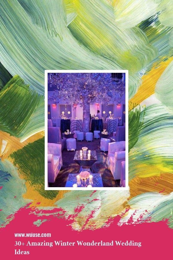 Wunderschöne 30+ wunderbare Winter Wonderland Hochzeitszeremonie Konzepte    – Wedding Decoration