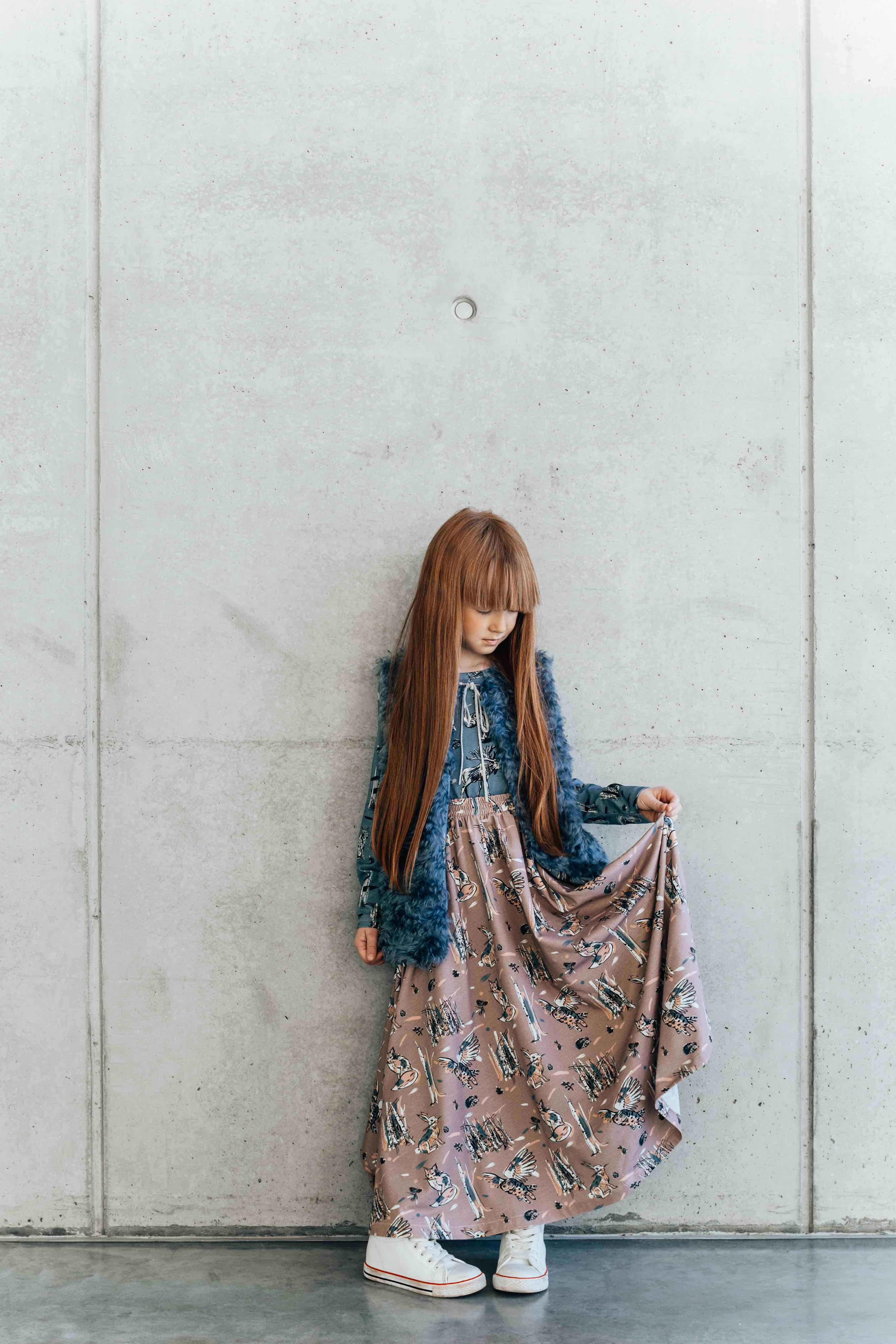 Nordic Heritage print story for Hebe kids fashion fall 2016