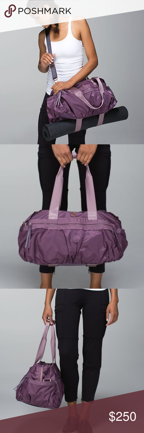 Lululemon Gym To Win Yoga Duffle Bag This Lightweight Medium Sized Duffel Is Perfect For The Travel Or Anyone Who On Go