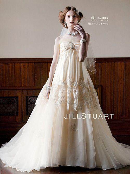 女の子の永遠の憧れ♡JILLSTUART(ジルスチュアート)のウエディングドレスが着たい♡|MERY [メリー]