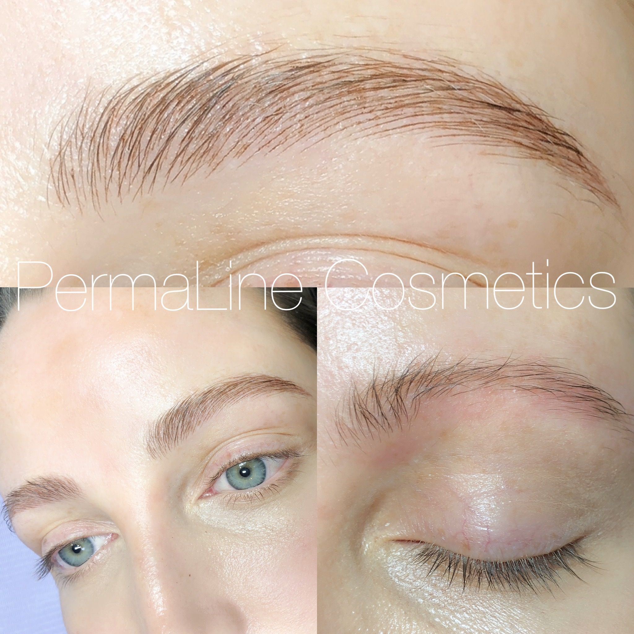 Permanent make up, microblading, PermaLine Cosmetics in