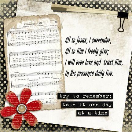 I Surrender All Hymns Of Praise Praise Songs