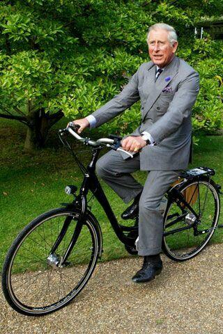 On Yer Bike Charlie Urban Biker Celebritylove Bicycle