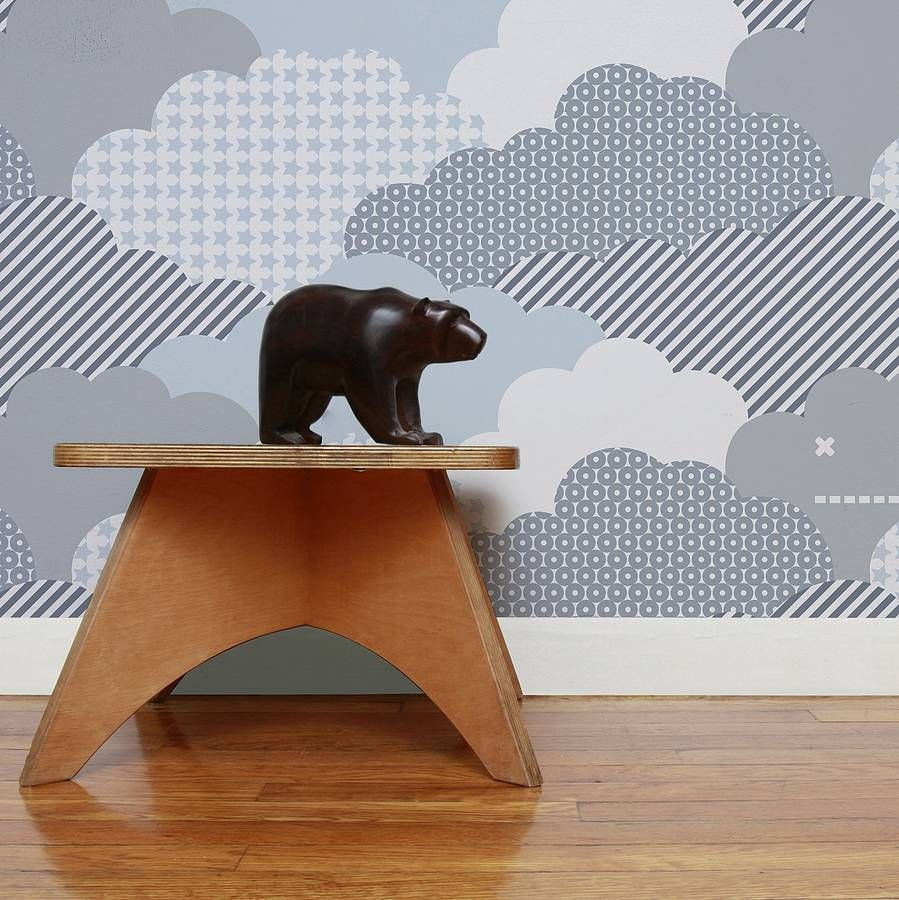 Children's Wallpaper|Aimee Wilder|Clouds Storm