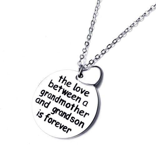Grandmother and Granddaughter/Grandson Love Necklace