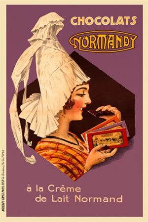 Chocolats Normandy | French Advertising | Vintage