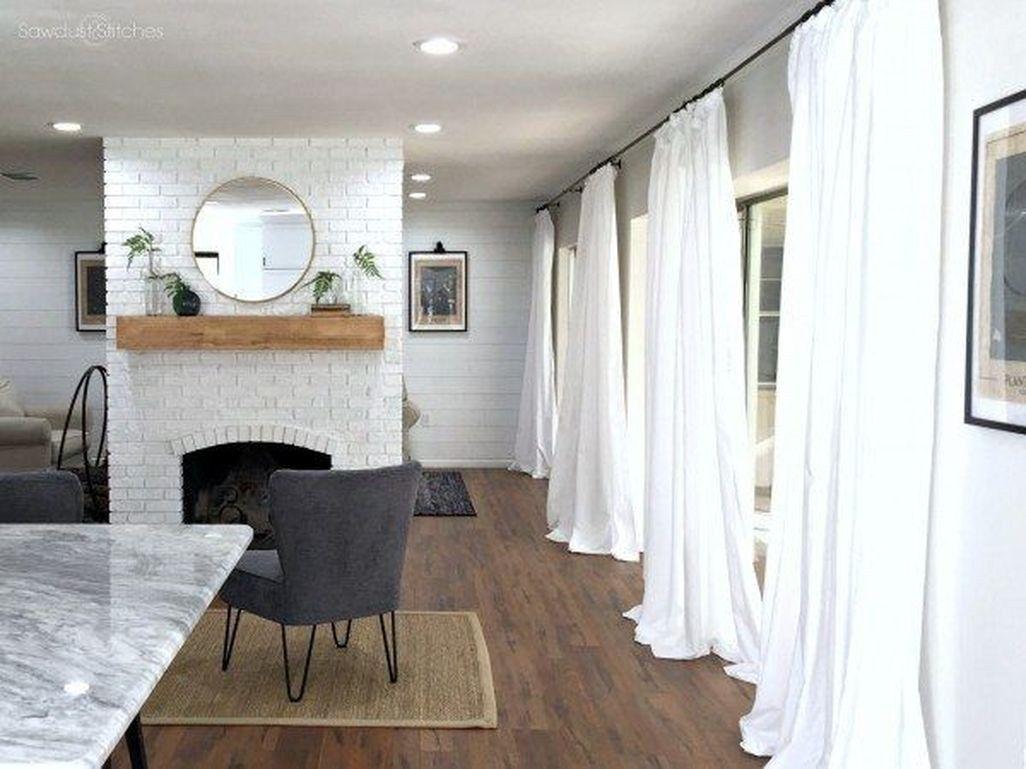 Modern Home Curtain Design Ideas 43 | Cheap living room ...