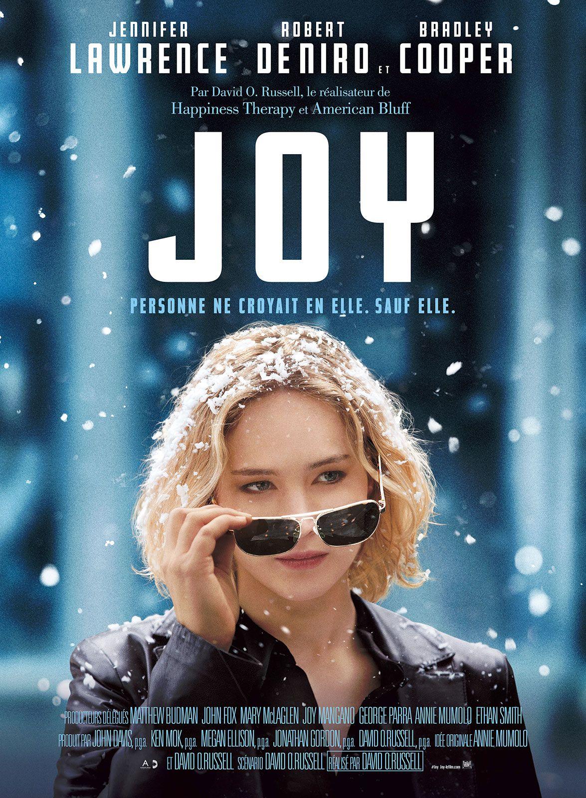 Inspiré d'une histoire vraie, JOY décrit le fascinant et émouvant parcours, sur 40 ans, d'une femme farouchement déterminée à réussir, en dépit de son excentrique et dysfonctionnelle famille, et à fonder un empire d'un milliard de dollars. Au-delà de...