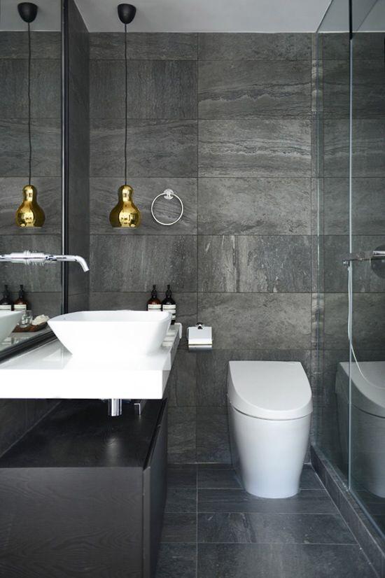 Pin By Sveta Oleinikova On Home Decor With Images Grey Bathroom Tiles Slate Bathroom Grey Bathrooms Designs