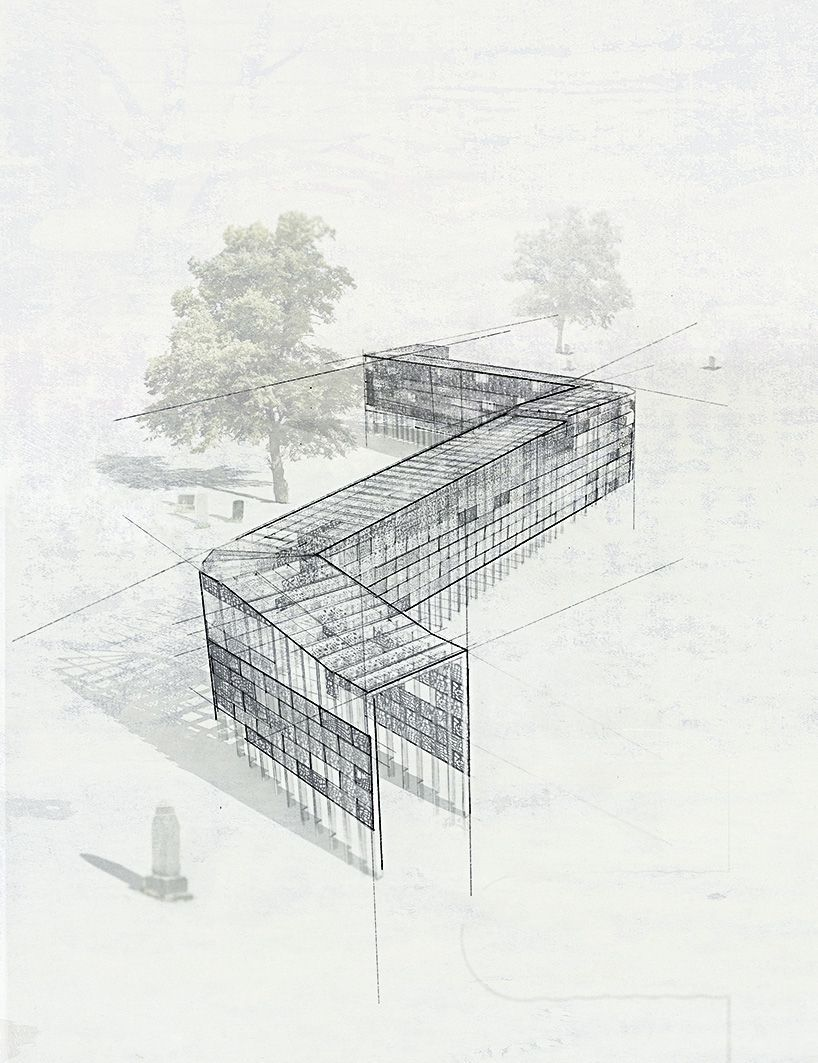 Thresholds Cemetery Sculpture By Frances Nelson Bradly Gunn Designboom Architecture Design Architecture Drawing Diagram Architecture Architecture Sketch
