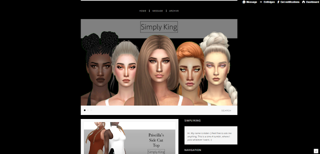 Sims 4 CC-Creators - The Best: Simply King