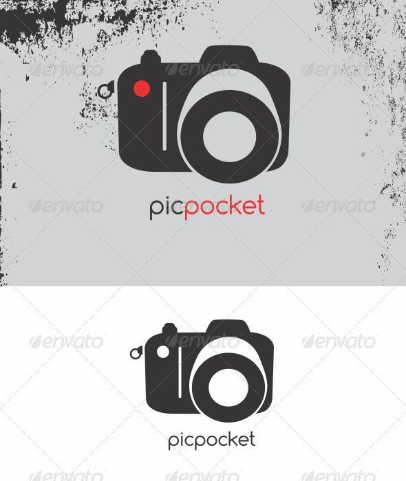 Picpocket Photography Logo Template #photography #camera #image ...