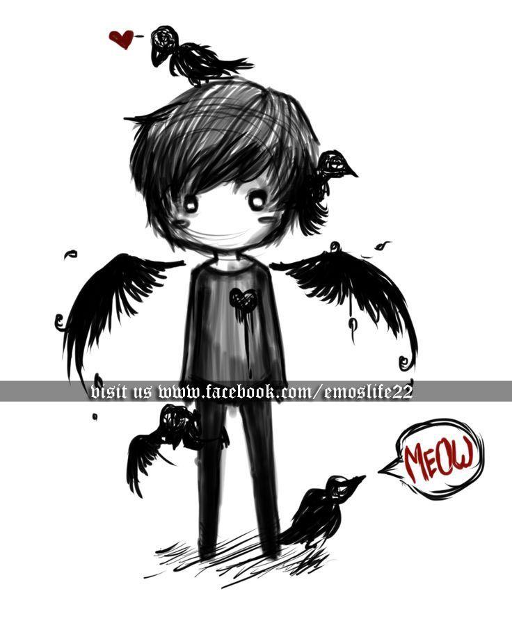 Sad emo boy anime emo art pinterest emo boys emo style and anime sad emo boy anime thecheapjerseys Image collections