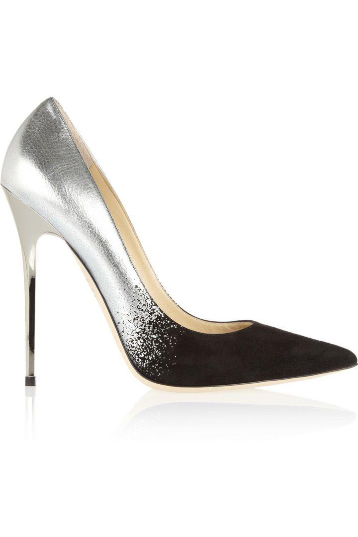 005a2ef31 Jimmy Choo shiny heels Suede Pumps, Stiletto Pumps, Pumps Heels, High Heels,