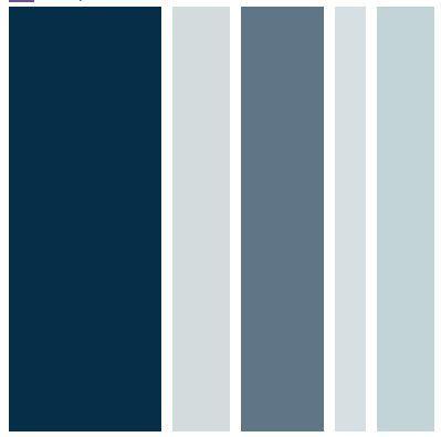 Camaieu De Bleus Qui Vont Avec Du Gris Du Brun Nuancier Bleu