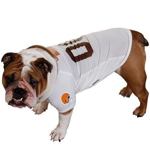 Cleveland Browns Dog Jersey - White  5c288e778