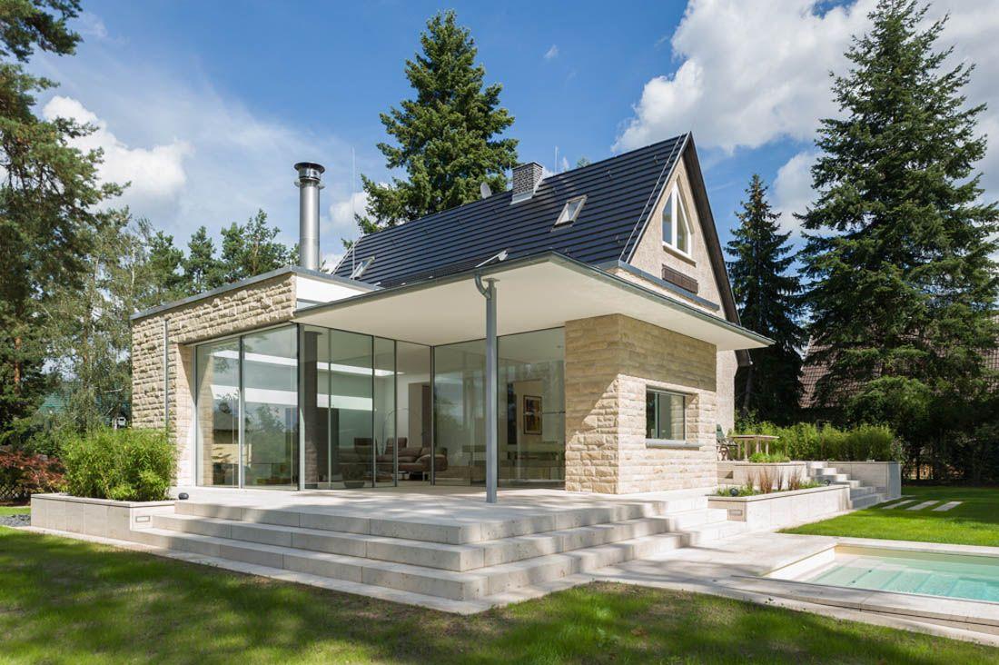 renovierung wohnbauerweiterung anbau an ein einfamilienhaus in hohen neuendorf bei berlin. Black Bedroom Furniture Sets. Home Design Ideas