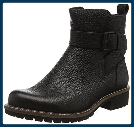 Ecco Damen Elaine Biker Boots, Schwarz (BLACK1001), 37 EU