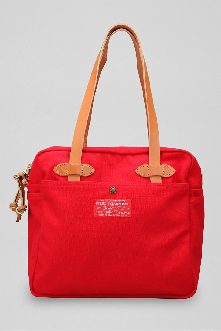 Filson Red Label Zippered Tote Bag  #UrbanOutfitters
