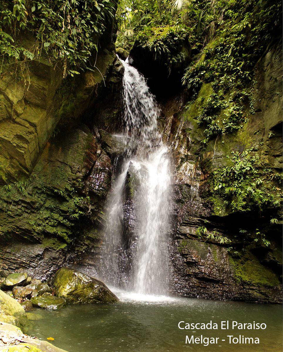 cascada el Paraiso Melgar Tolima Colombia