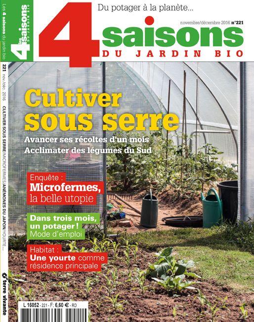 Magazine de Terre vivante, Les 4 Saisons du jardin bio n