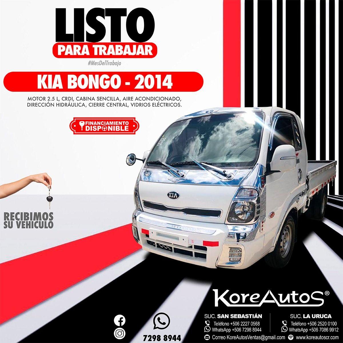 KIA Bongo 2014 Kia, Suv, Suv car