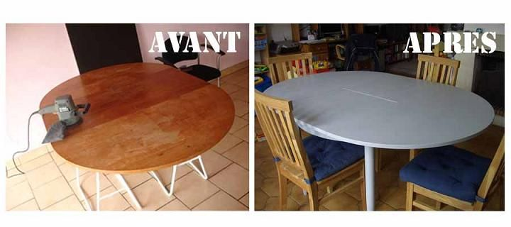 Meubles charlottises table restauration meuble Retaper meuble