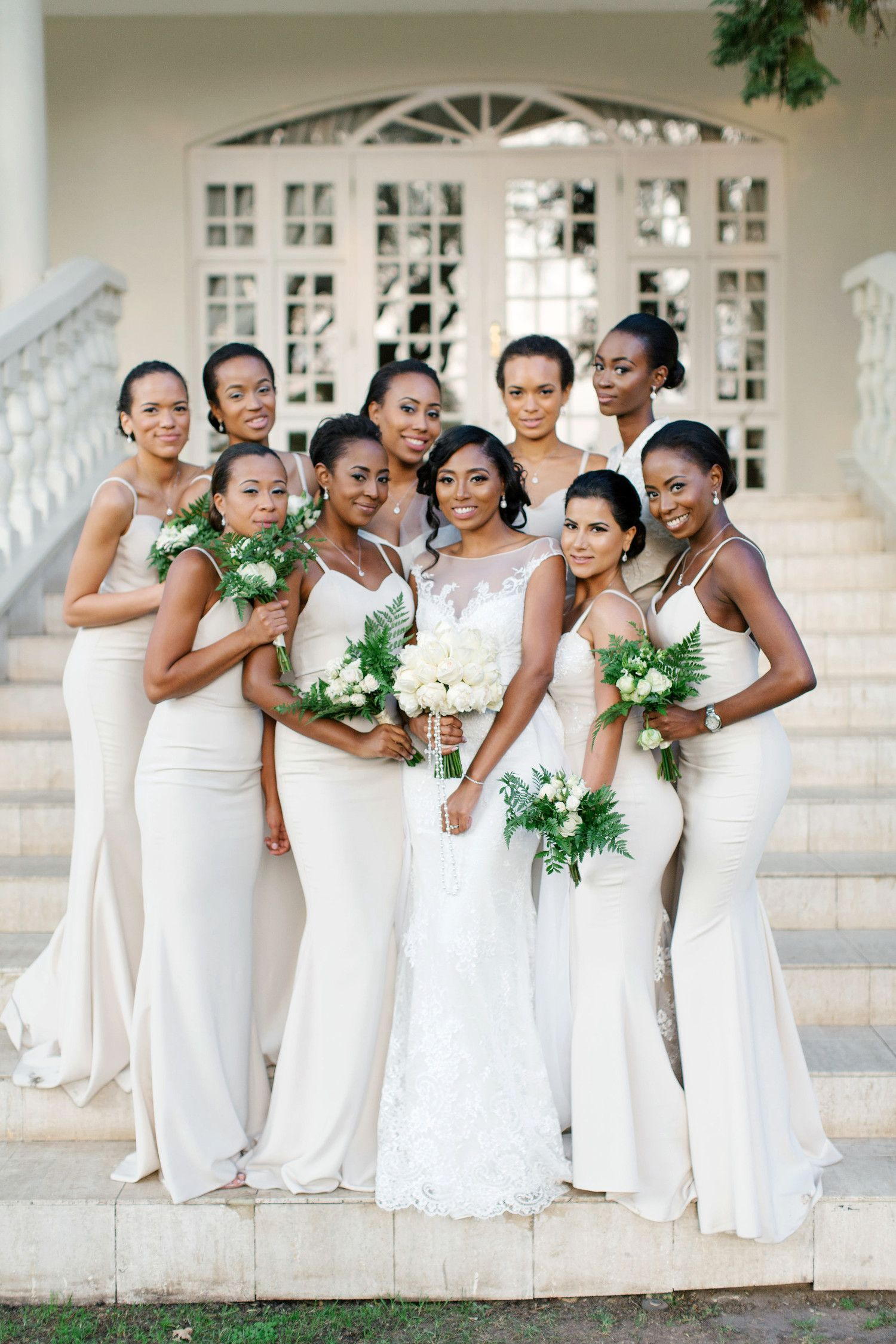 20 Best Dressed Bridal Parties From Real Weddings African