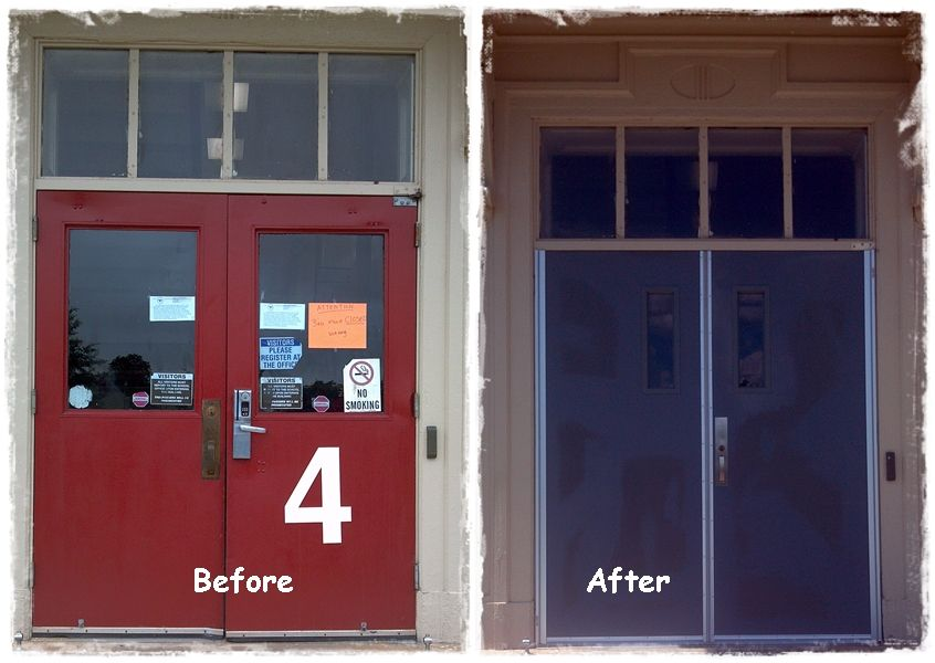 Lynchburg City Schools Lynchburg Va One Of The Many Openings House Of Doors Installed This Summer For Lynchb Door Installation Hollow Metal Doors Metal Door