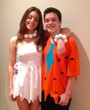 Fred and wilma flintstone costumes do it myself pinterest fred and wilma flintstone costumes solutioingenieria Gallery
