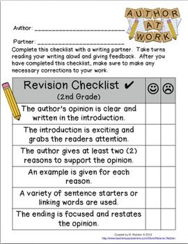 revision checklist for essays Revision checklist when revising an essay, it is important to understand what  types of problems need to be focused on some essays may have a variety of.