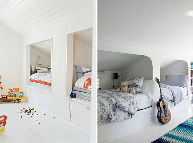 Small Space Solution: Built-In Bunk Beds For Kids\' Rooms | Dead ...