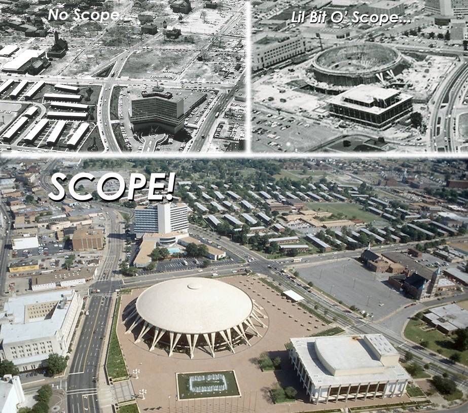 Construction Of Scope In Norfolk Va Began In June 1968 And Was Completed In 1971 At A Cost Of 35 Mil Virginia Is For Lovers Norfolk Virginia Virginia History
