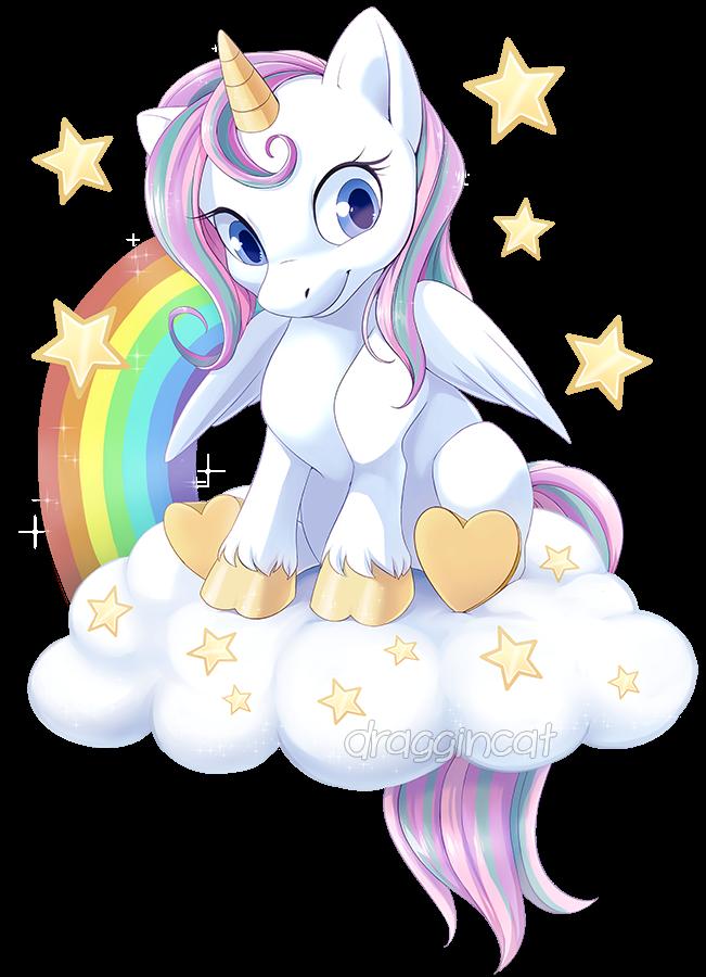 Com: Rainbow Unicorn (not MLP related) by DragginCat ...