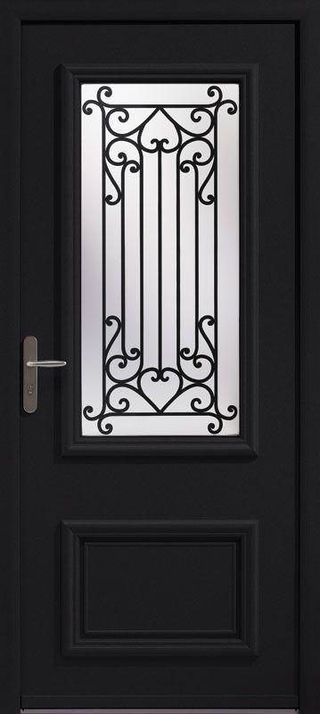 Porte d 39 entr e aluminium colombelles d coration maison - Porte d entree vitree pas cher ...