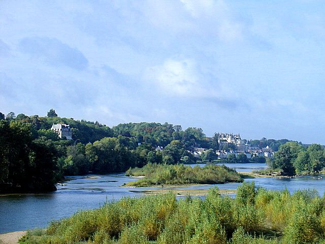 The dreamy, romantic Loire Valley in France, where Chateau du Soleil is located.