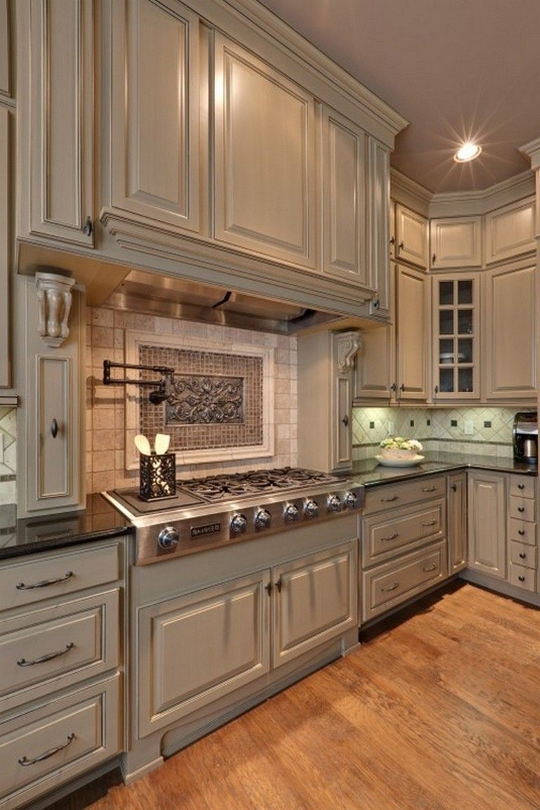 120 easy and elegant cream colored kitchen cabinets design ideas page 79 of 122 traditional on kitchen ideas cabinets id=46898