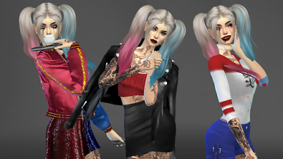 xurbansimsx offical website the sims 4 harley quinn sims