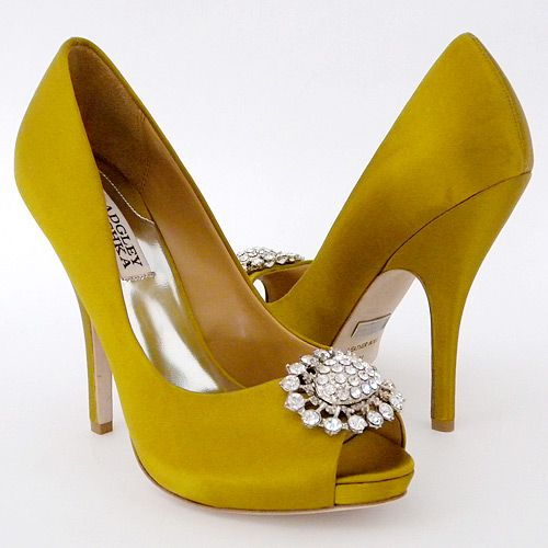 These Are Gorgeous Yellow Wedding Shoes Wedding Shoes Ivory
