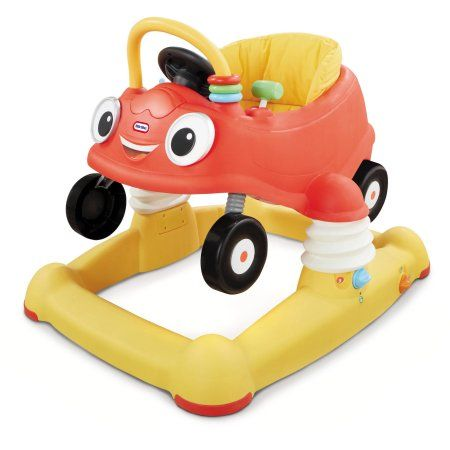Little Tikes Cozy Coupe 3 In 1 Baby Walker Bouncer Mobile Entertainer Multicolor Cozy Coupe