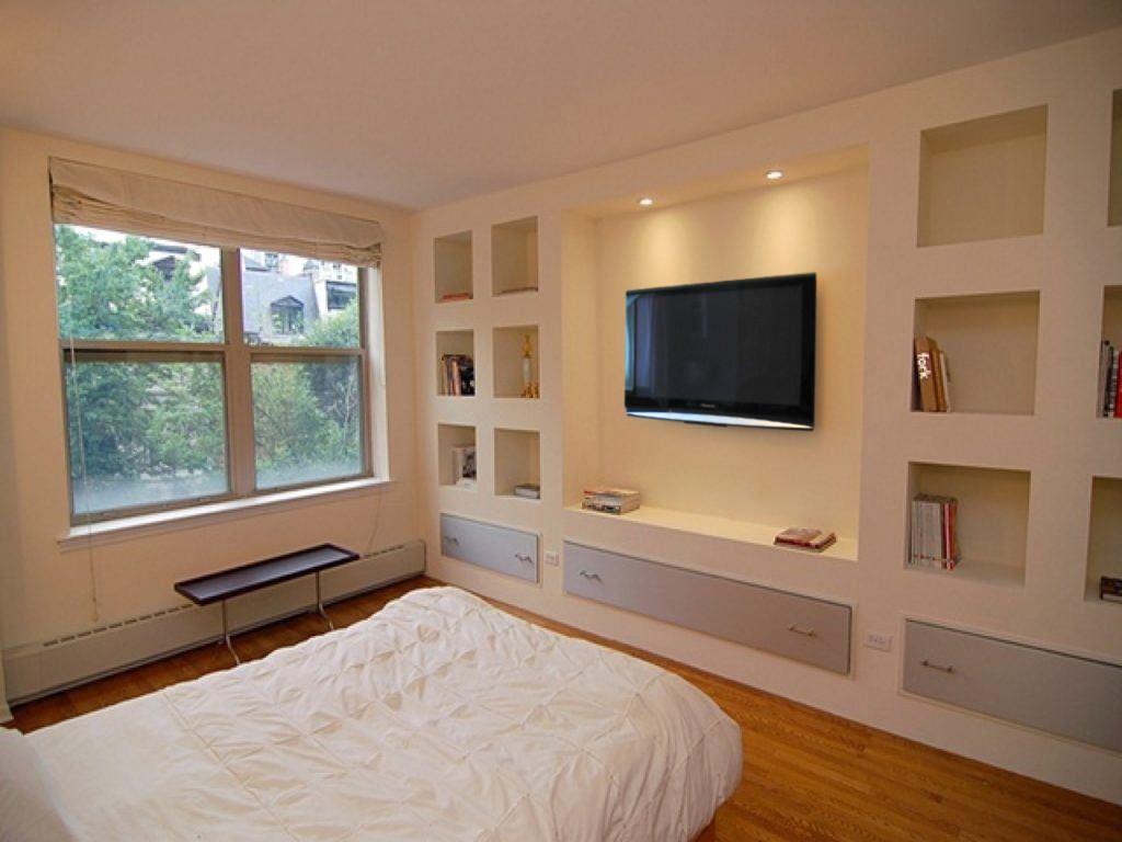 Libreria Design Camera Da Letto 40 idee di lavori in cartongesso per la camera da letto